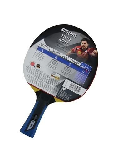Butterfly 85031 Boll Ittf Onaylı Baskılı Renkli Masa Tenisi Raketi Renkli
